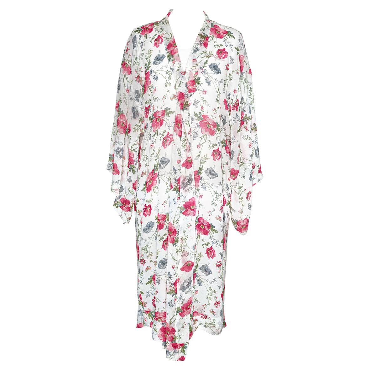 GreenGate Kimono Meadow White