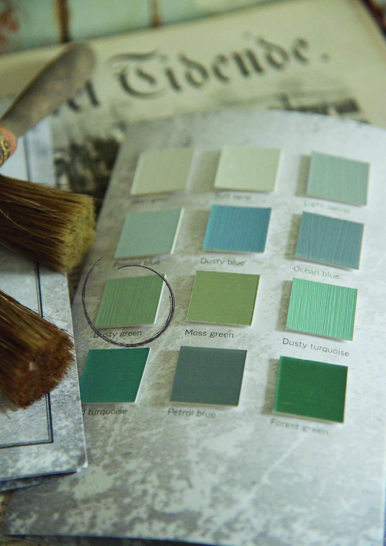 vintage paint dusty green 1