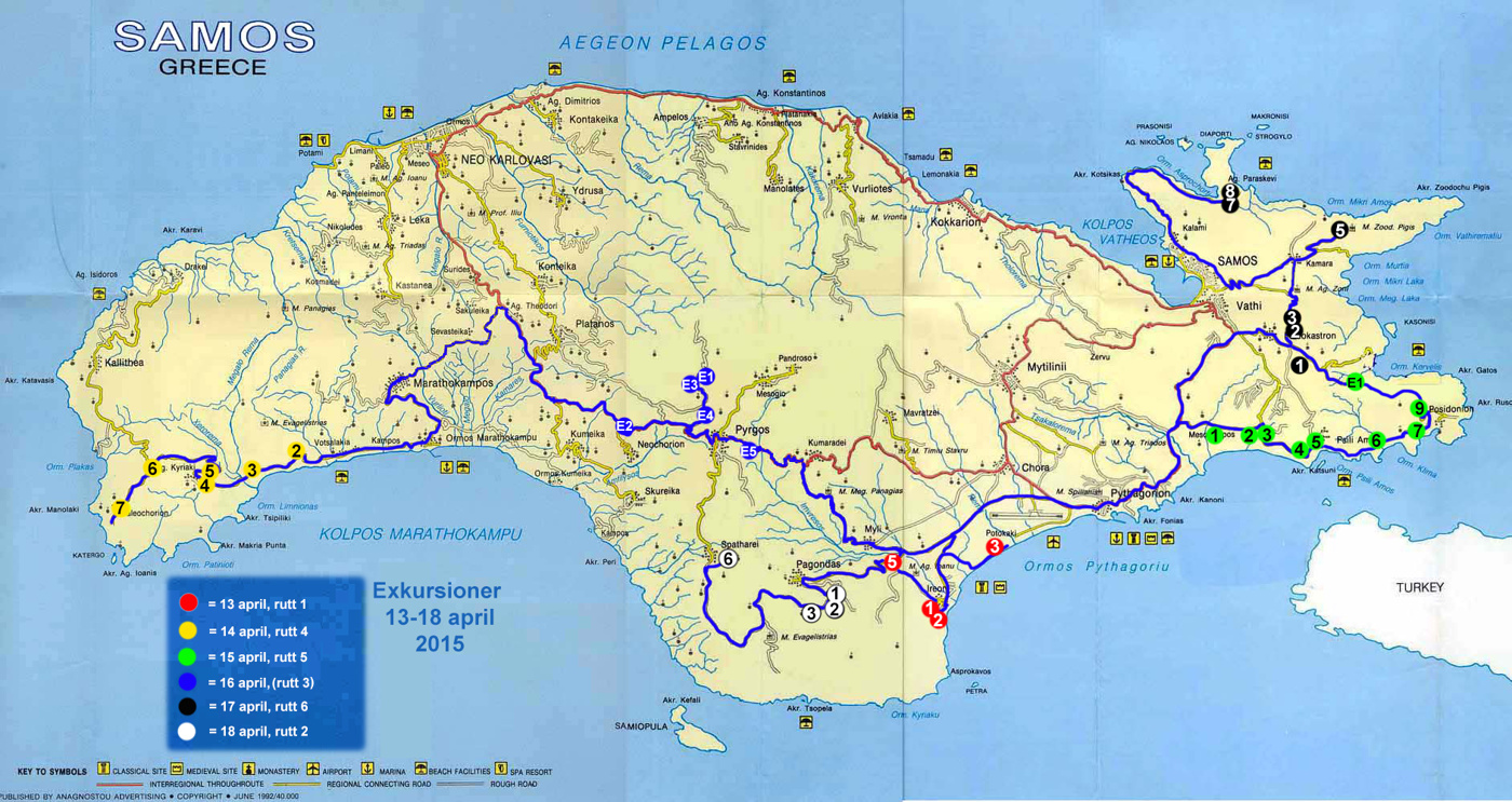 Samos 2015 Europas orkider