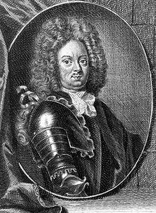 Fältmarskalken Carl Gustaf Dücker var chef för Stockholmsarmén – c:a 9 000 man som Frisenheim skulle förse med mat, tobak och brännvin.