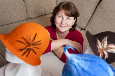 Irinas Design - tovade kläder, hattar, smycken & accessoarer.