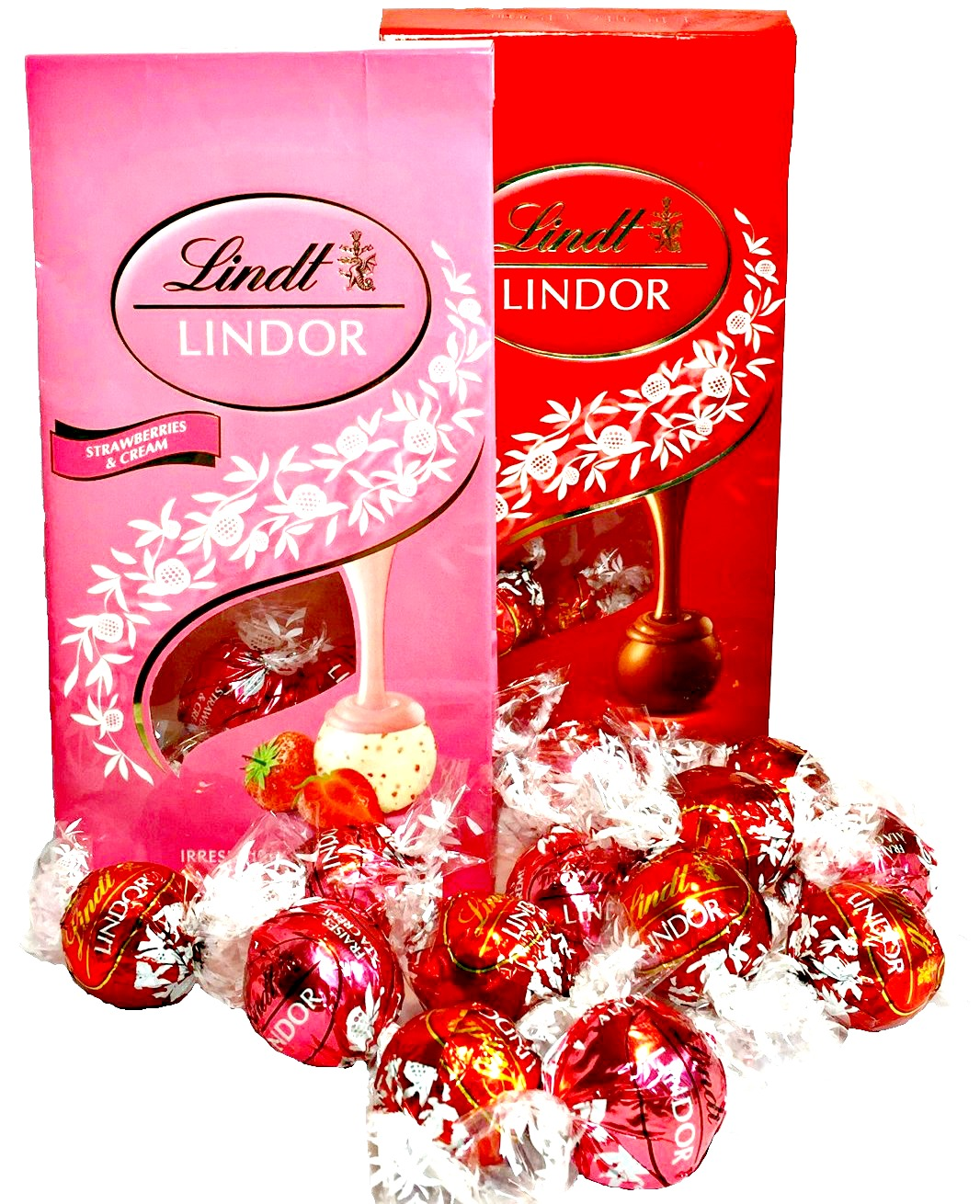 Chokladlådan Lindor Lindt XL