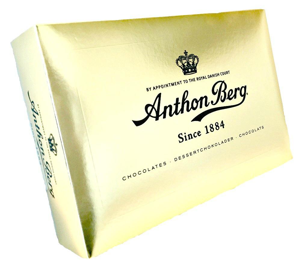 Chokladlådan Anthon Berg Guld utan gram
