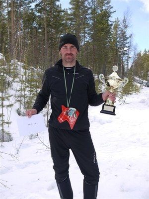 Segrare Jonas Gustavsson, Foto: Kenneth Lilja