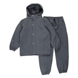 Regnkläd grå
