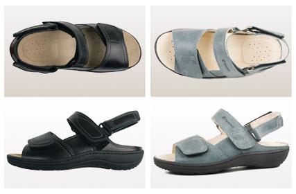 Sandaler herr och dam
