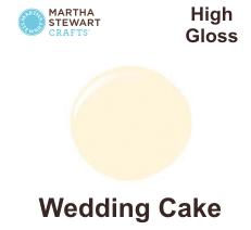 Hobbyfärg blank Wedding Cake -